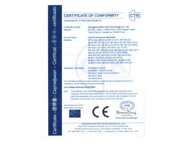 荧光模块CE认证