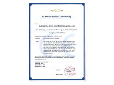 荧光模块EU认证