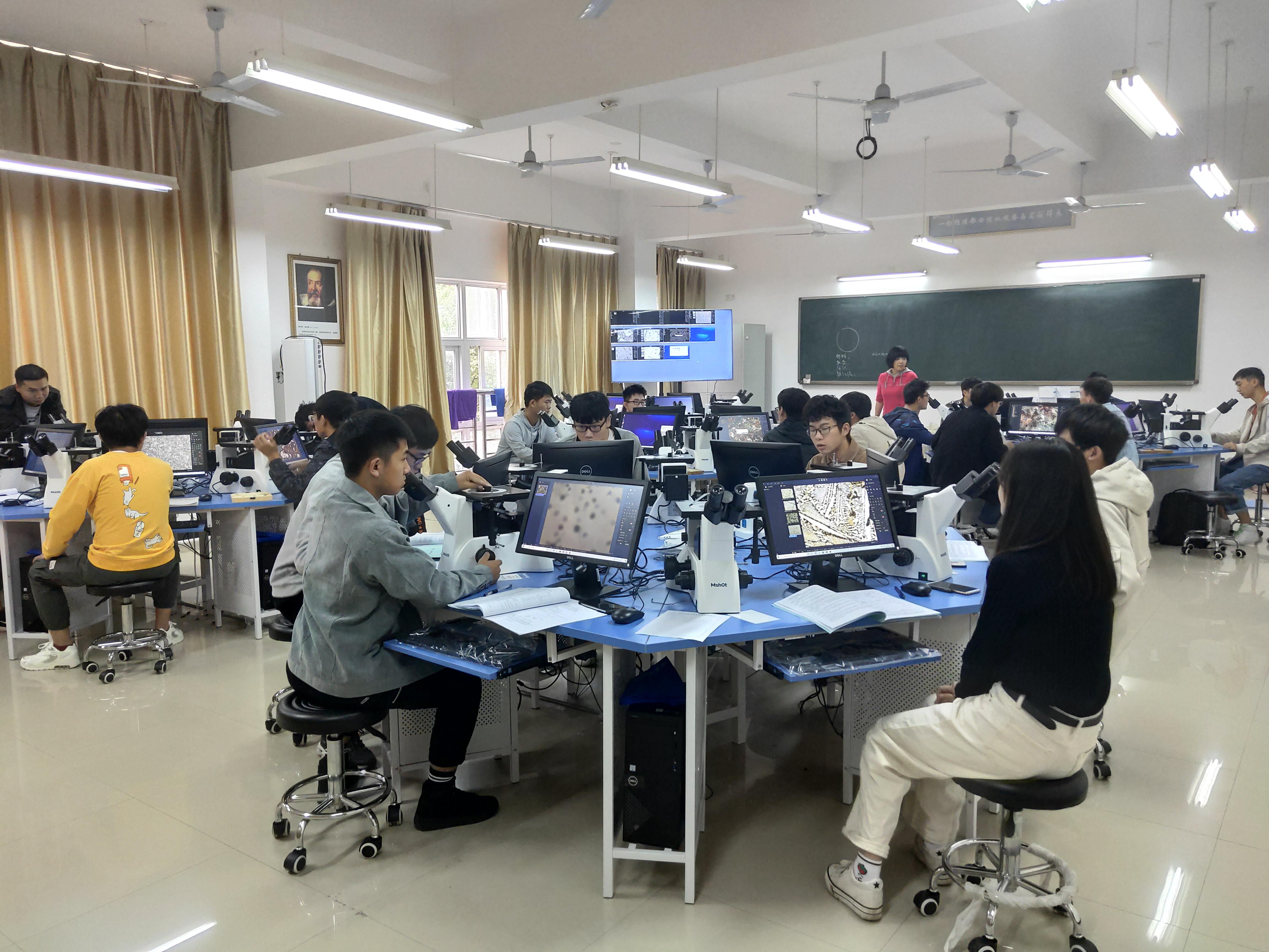 明美显微互动教学系统,助力大学课程创新