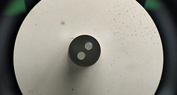 明美倒置荧光显微镜应用于重庆三峡学院光纤检测