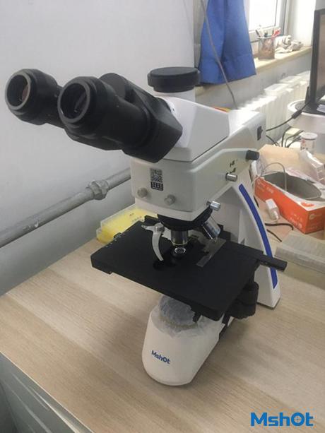 明美生物显微镜应用于呼吸道九联检检测