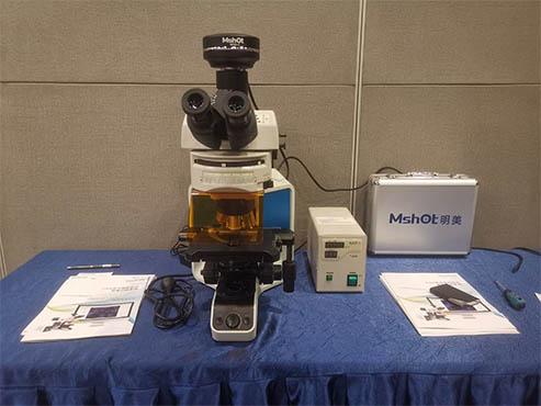 明美为康录FISH培训班提供全程FISH荧光显微镜系统支持!