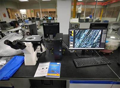 【安装日志】倒置金相显微镜搭配金相软件助力金属测量