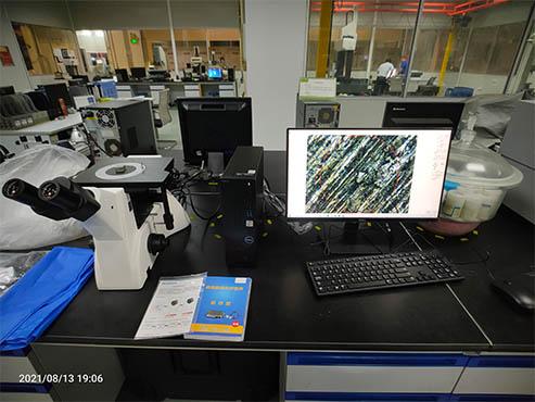 倒置金相显微镜——金属材料分析